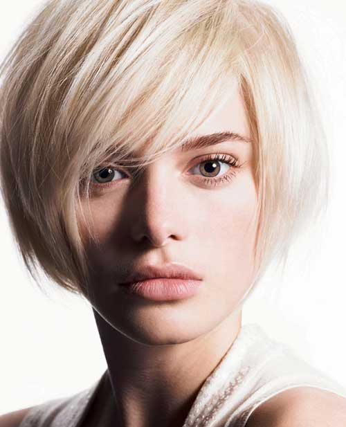 Fringe Bob Haircuts for Thick Wavy Hair
