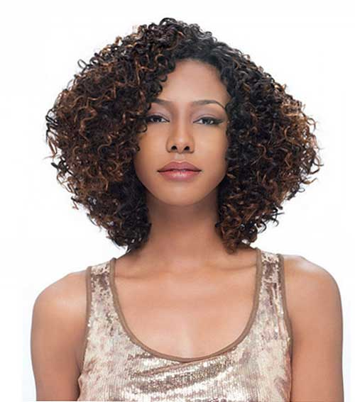 ... Weave Human Hair also Short Hairstyles. on sew in curly hair styles