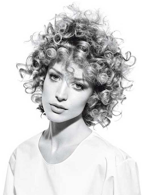 Fun Curly Short Hairstyles