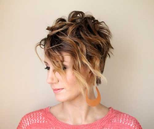 Fun Ombre Pixie Haircuts
