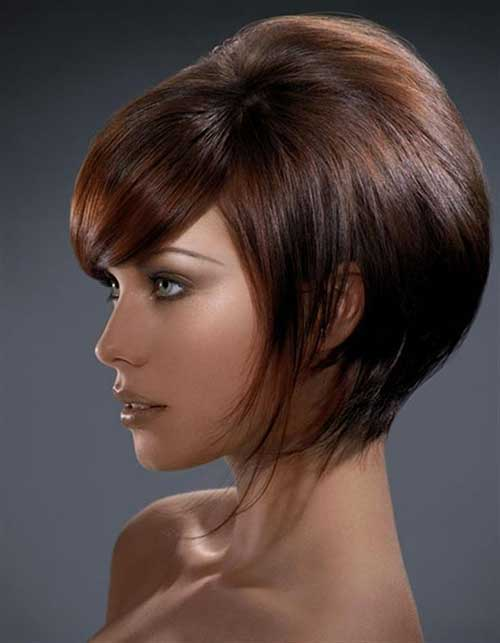 Graduated Bob Styles for Heart Shaped Faces