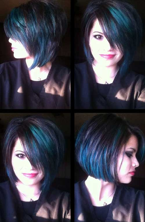 Different Hair Color Ideas for Short Hair
