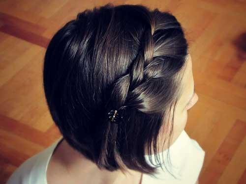 Hairstyles for Short Dark Hair 2014