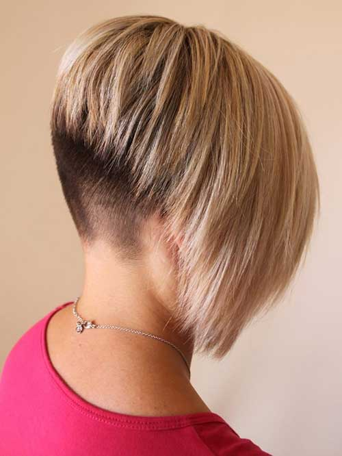 Pics photos inverted bob haircut very short hairstyles for fine hair