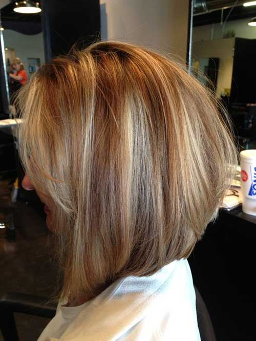 Inverted Layered Bob Pictures