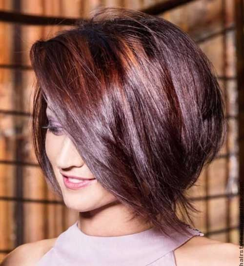 Inverted Stacked Bob Haircuts Ideas 2014