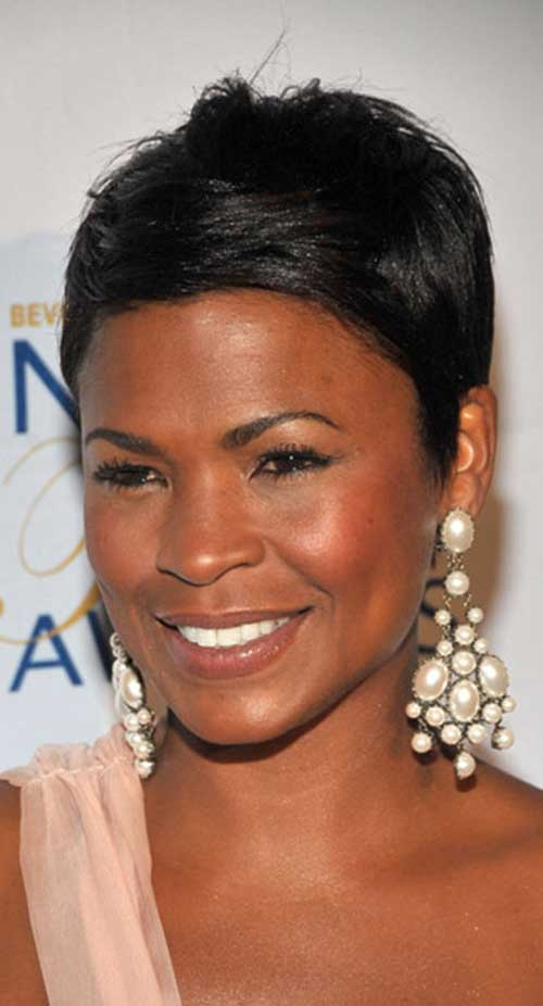 Nia Long Straight Pixie Hairstyles