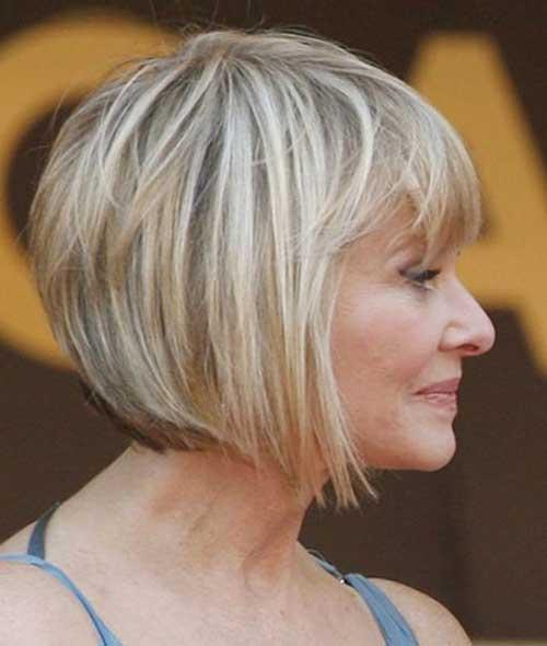 Older Womens Bob Hairstyles Ideas 2014