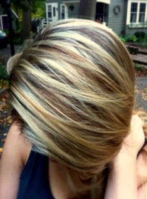 Best Pictures of Short Highlighted Hair Styles