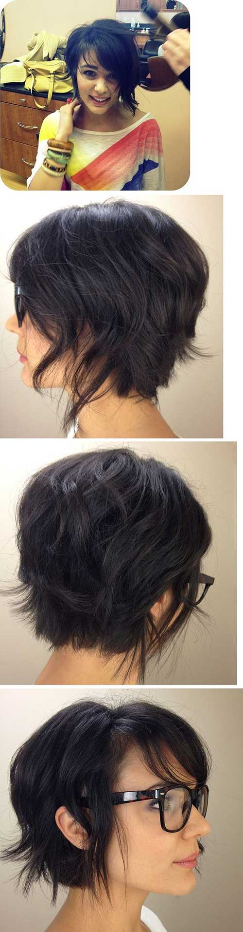 Pixie Short Hair Styles Back View Pictures
