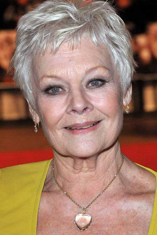Pixie Short Haircuts Ideas for Older Ladies
