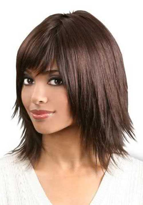 razor cut short hairstyles : Black Hair Short Weave Hairstyles