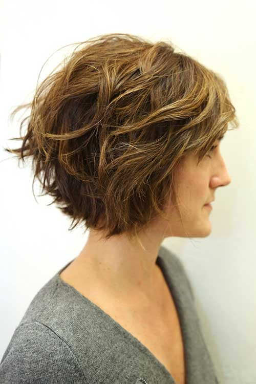 Razor Layered Cuts for Short Hairstyles