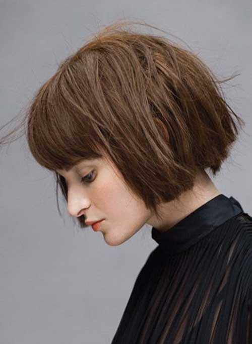razor bob cut hairstyles : Layered Razor Cut Bob Hairstyles LONG HAIRSTYLES