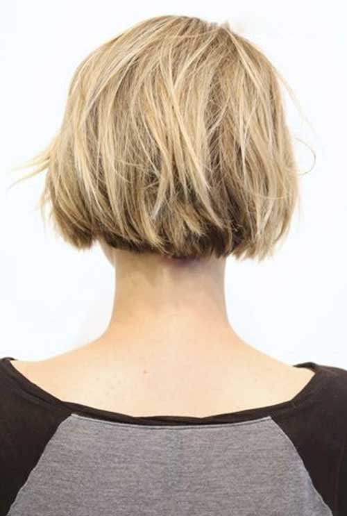 Back View Of Bob Haircuts | The Best Short Hairstyles for Women 2016