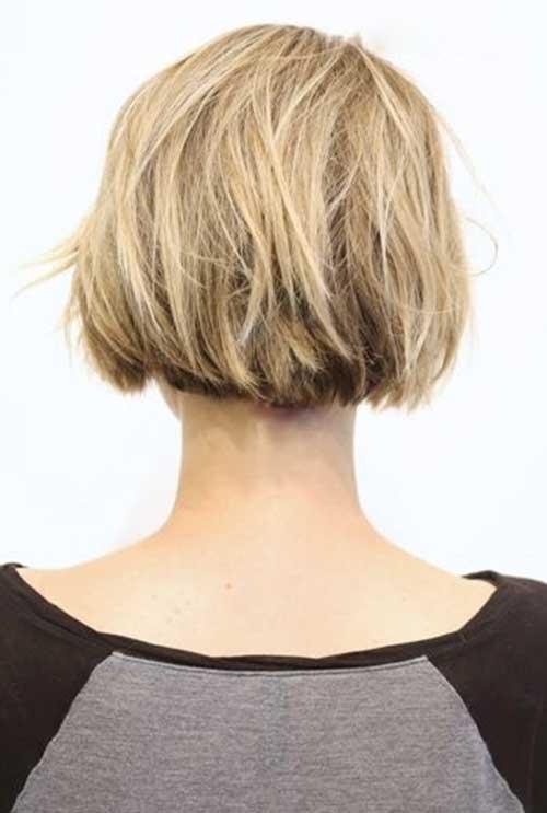 inverted bob hairstyles back view inverted blonde short bob haircuts ...