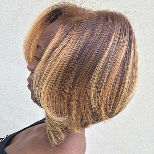 Casual Short Bob Haircuts for Black Women