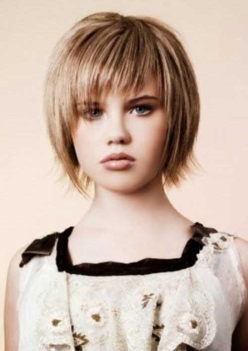 Short Bob Haircuts for Fine Cute Hairstyles
