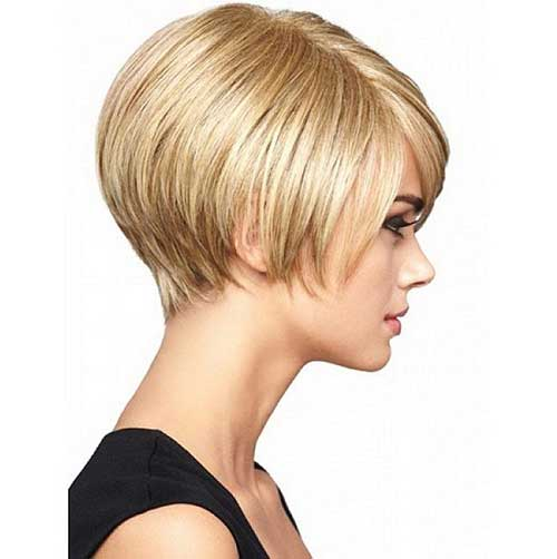 Short Bob Hairstyles for Thick Haircut