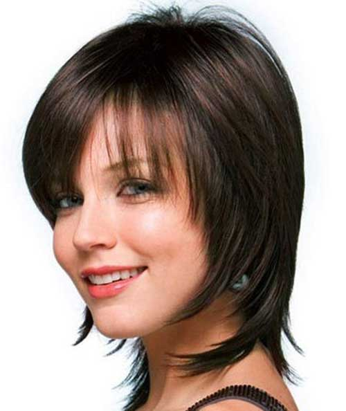 Short Bob Hairstyles with Bangs for Women 2014