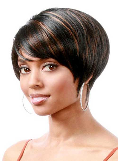 layered bob weave hairstyles for black women short
