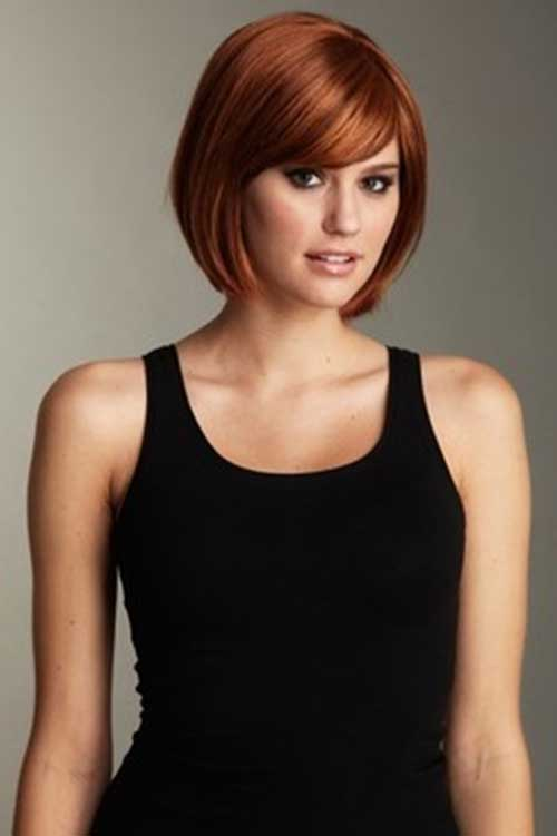 Short Casual Hairstyles for Thick Hair Ideas