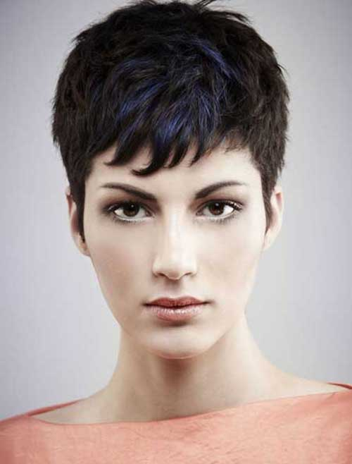 Short Casual Pixie Haircuts for Thick Hairstyles 2014