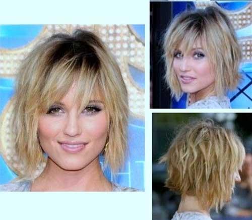 Short Choppy Hairstyles for Wavy Fine Hairdo Styles