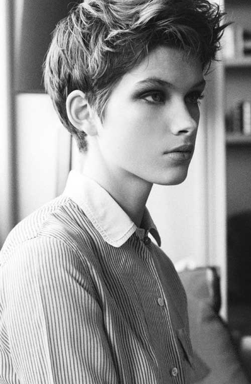 Short Cool Pixie Haircut Style 2014