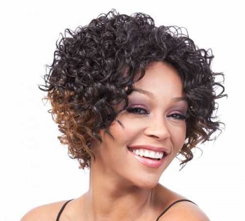 Short Curly Quick Weave Styles Women