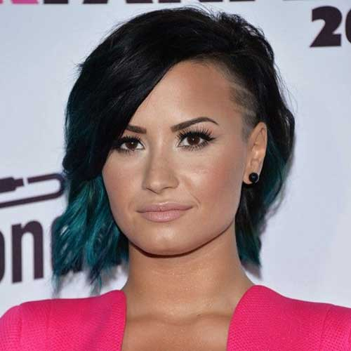 Short Different Ombre Hairstyles