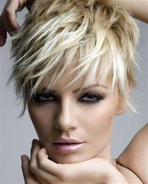Short Funky Haircuts for Thick Hair Type 2014