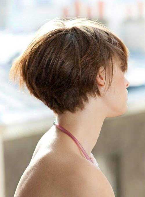Short Graduated Haircuts for Women Fine Hairstyles
