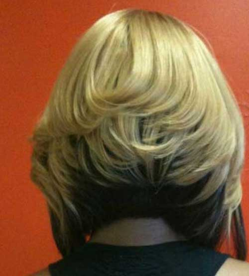 Short Haircuts Back View for Women 2014