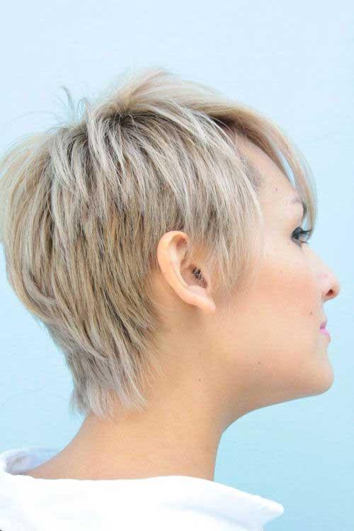 Short Hair Back View 2015
