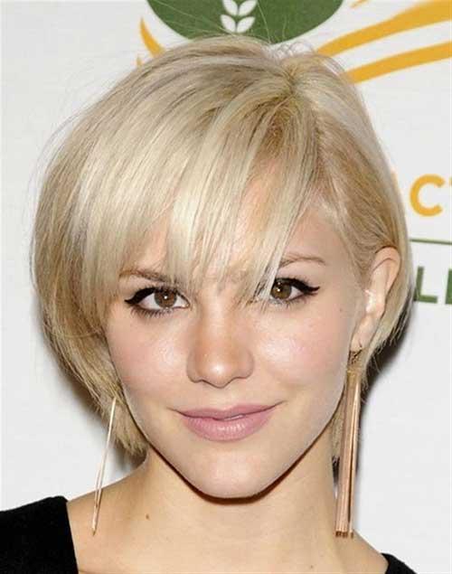 Short Hair Cut Ideas for Heart Shaped Faces