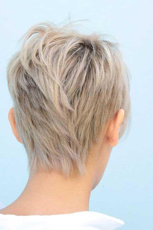 Short Hair Cuts Back View Ideas 2015