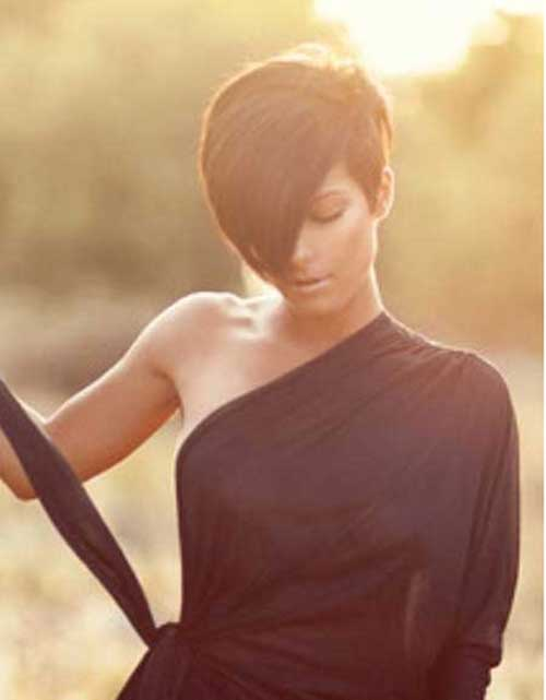 Short Hair Cuts for Brown Hairstyles 2015