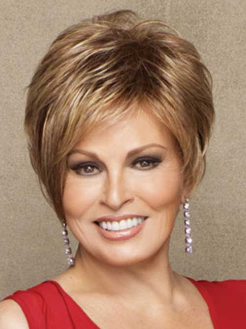 Chic Short Hair Older Women