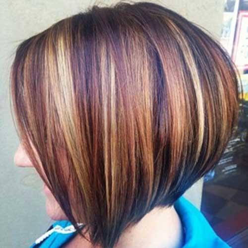Short Highlighted Hair Styles 2014
