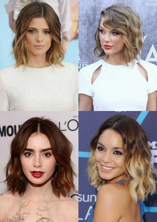 Short Wavy Hair for 2014-2015