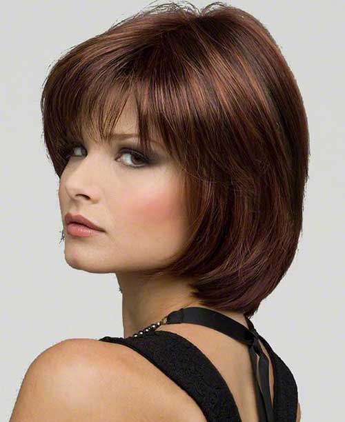 Short Hair for Dark Brown Bob Hairstyles