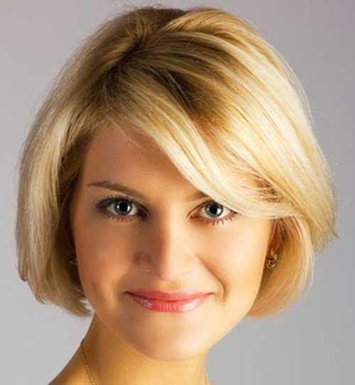 Best Short Haircut Styles for Round Face