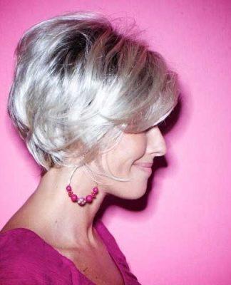 Short Haircut Ideas for Older Ladies