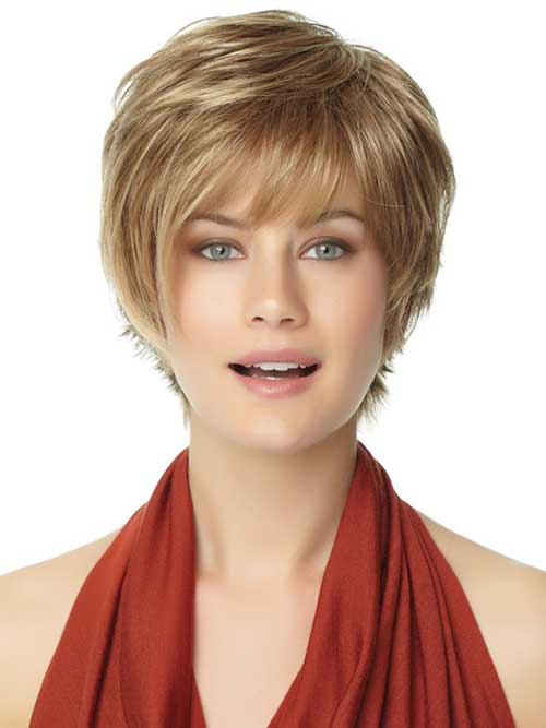 Short Haircut For Round Face The Best Short Hairstyles for Women ...