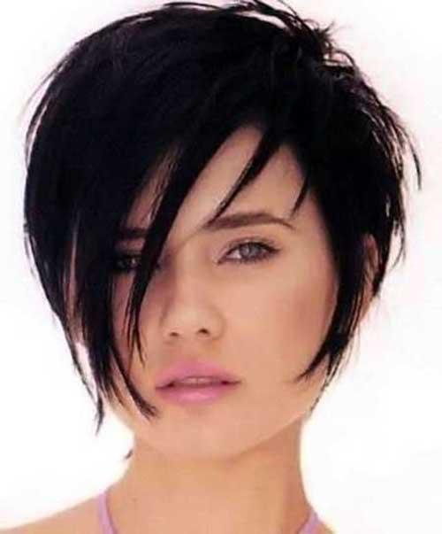 Short Haircuts for Dark Pixie Cuts