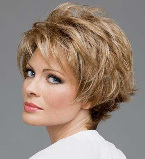 Layered Short Haircuts for Over 50