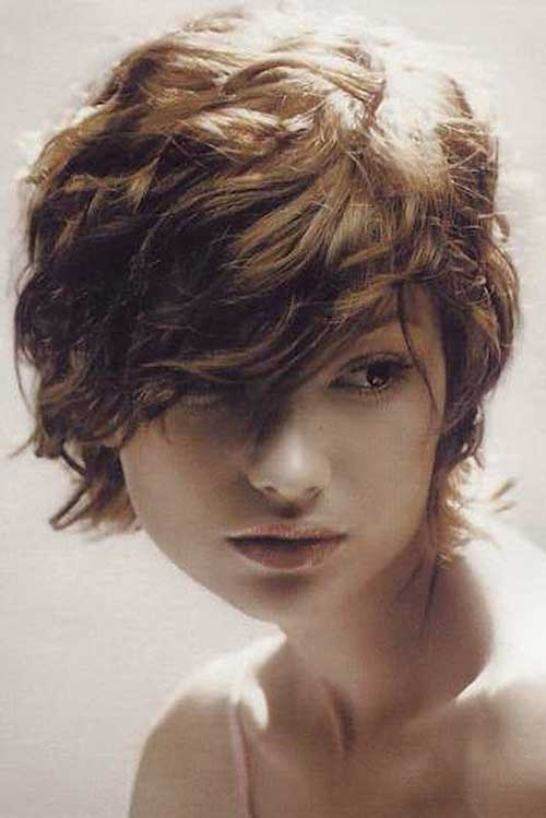 Short Haircuts for Thick Wavy Hairstyles 2014