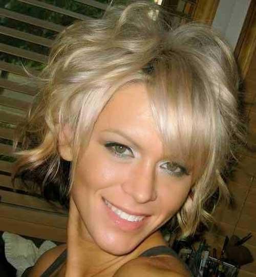 Short Haircuts for Wavy Blonde Hair 2014