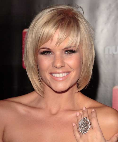 Short Haircuts with Bangs for Thin Blonde Hair